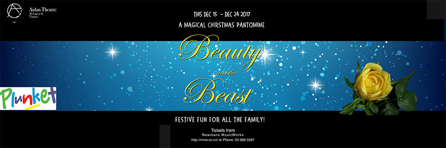 'Beauty and the Beast - A Christmas Pantomime'