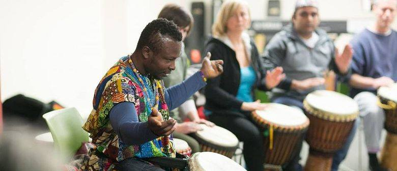 West African Drumming/Dance Workshop with Koffie from Ghana