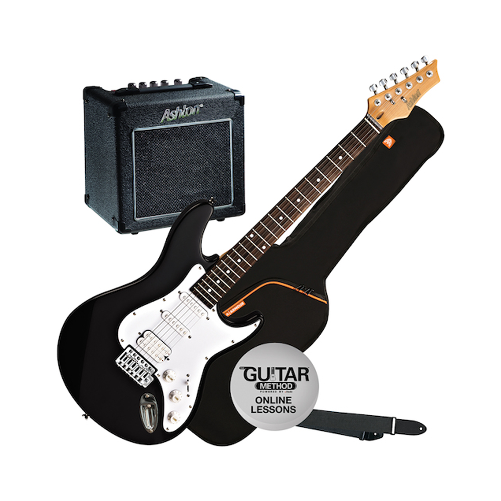 Ashton Electric Guitar Pack with GA10 Amp